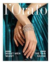 l'Orafo Italiano Magazine Cover