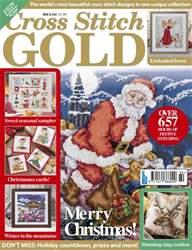 Cross Stitch Gold Magazine Cover