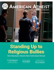 American Atheist Magazine Cover