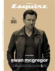 Esquire Singapore Magazine Cover