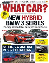 What Car Magazine? Magazine Cover