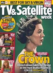 TV & Satellite Week Magazine Cover