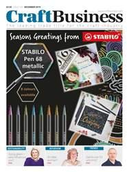 Craft Business Magazine Cover