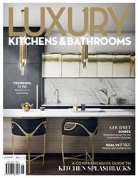 Luxury Kitchens and Bathrooms Magazine Cover