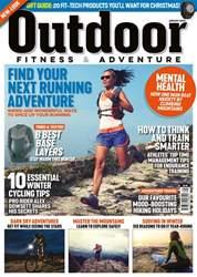 Outdoor Fitness & Adventure Magazine Cover