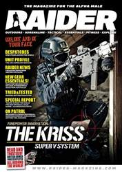Raider Magazine Cover
