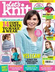 Let's Knit Magazine Cover