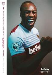 West Ham Utd Official Programmes Magazine Cover