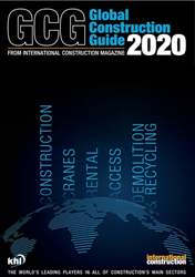 International Construction Magazine Cover
