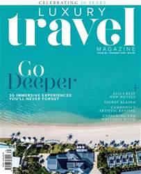Luxury Travel Magazine Cover