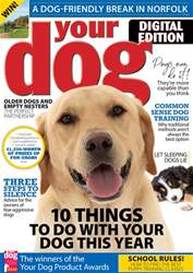 Your Dog Magazine Cover