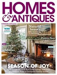 Homes & Antiques Magazine Magazine Cover