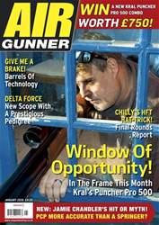 Airgunner Magazine Cover