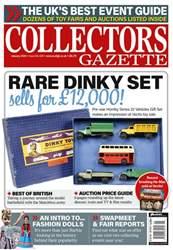 Collectors Gazette Magazine Cover