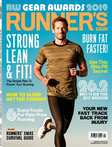 Runner's World Magazine - Jan 2020 Subscriptions | Pocketmags