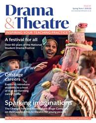 Drama and Theatre Magazine Cover