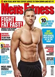 Men's Fitness Magazine Cover