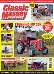 Classic Massey Magazine Cover