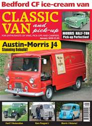 Classic Van & Pick-up Magazine Cover