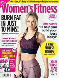 Women's Fitness Magazine Cover