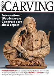Woodcarving Magazine Cover