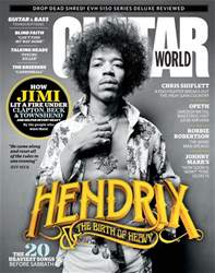 Guitar World Magazine Cover