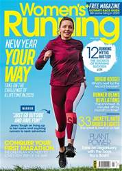 Women's Running Magazine Cover