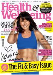 Health & Wellbeing Magazine Cover