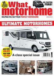 What Motorhome magazine Magazine Cover
