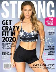 Strong Fitness Magazine Cover