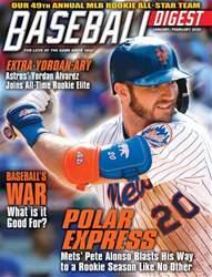Baseball Digest Magazine Cover