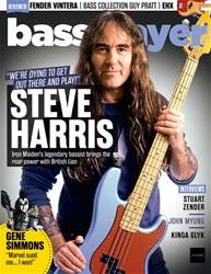 Bass Player Magazine Cover
