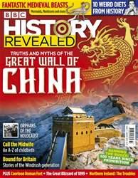 BBC History Revealed Magazine Magazine Cover