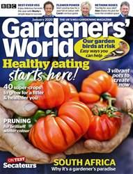 BBC Gardeners' World Magazine Magazine Cover