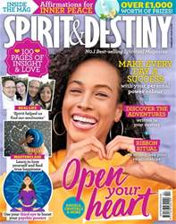 Spirit & Destiny Magazine Cover