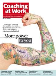 Coaching at Work Magazine Cover
