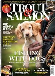 Trout & Salmon Magazine Cover