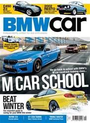 BMW Car Magazine Cover