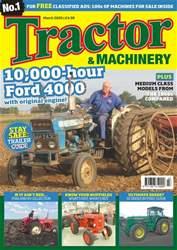 Tractor & Machinery Magazine Cover