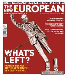 The New European Magazine Cover
