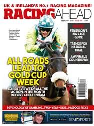 Racing Ahead Magazine Cover