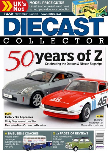 Diecast Collector Magazine March 2020 Subscriptions Pocketmags