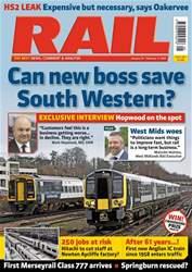 Rail Magazine Cover