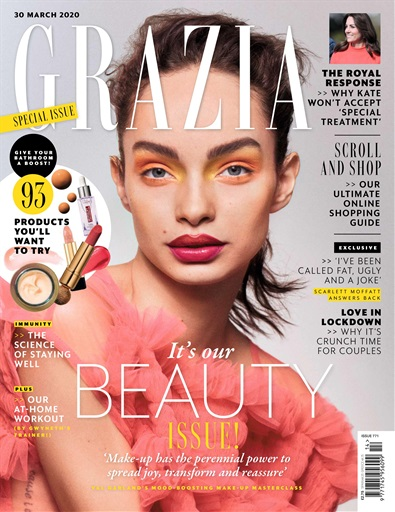 Grazia Magazine Issue 771 Subscriptions Pocketmags