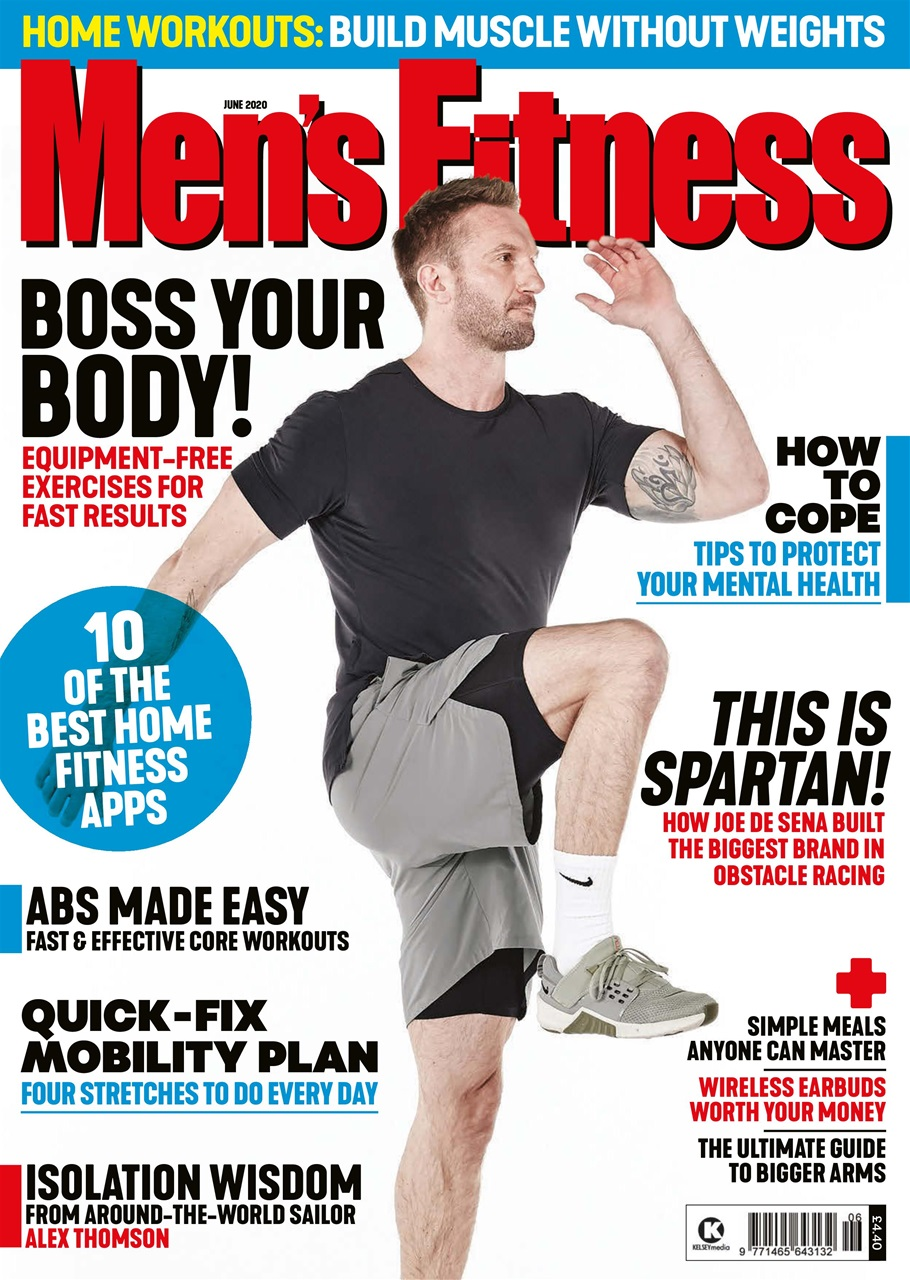 Mens Fitness Magazine Only $4.99/year today only
