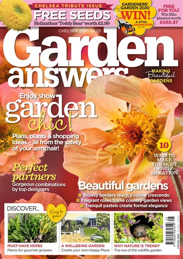 Garden Answers Magazine Chelsea Flower Show Subscriptions