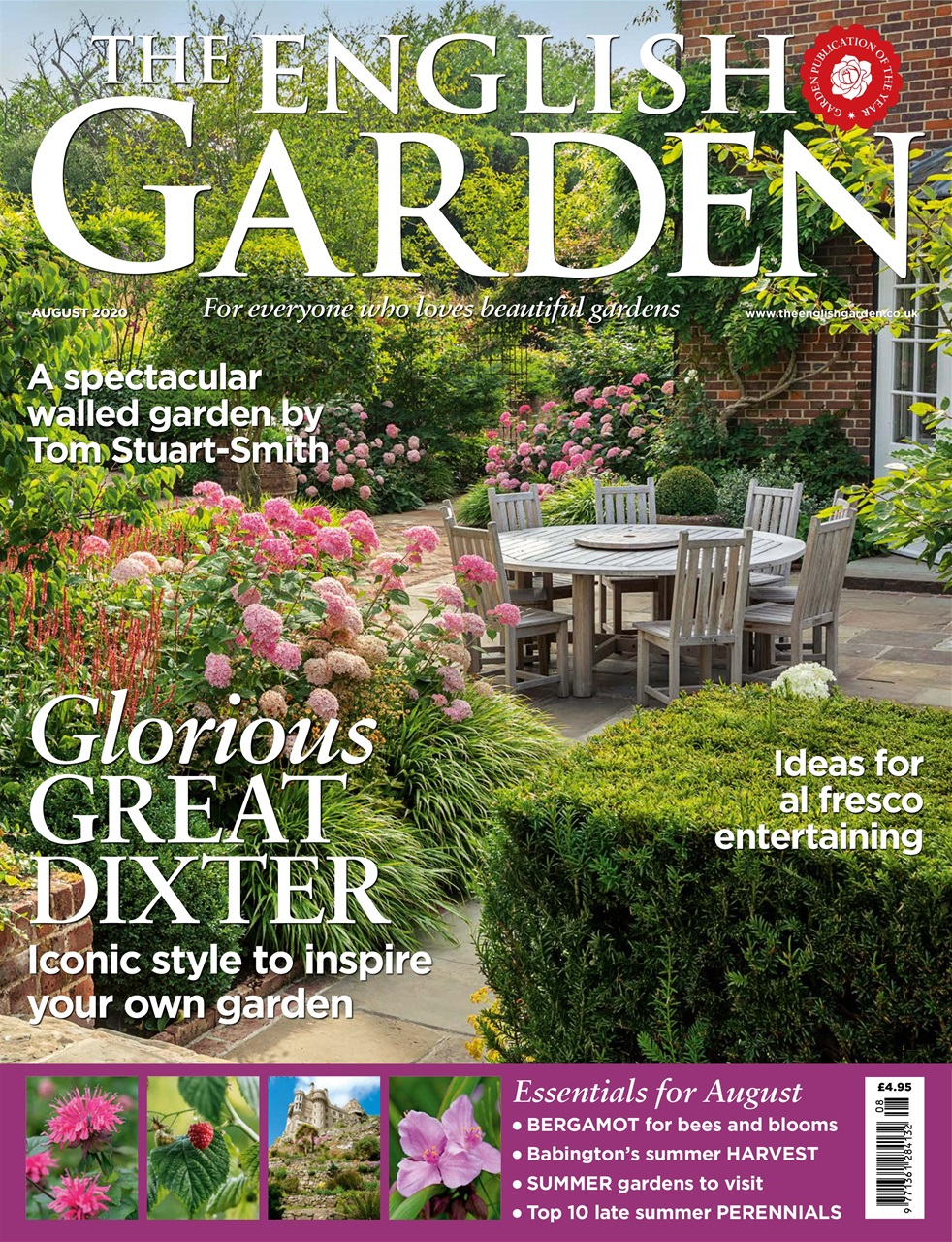 The English Garden Magazine - August 2020 Subscriptions ...