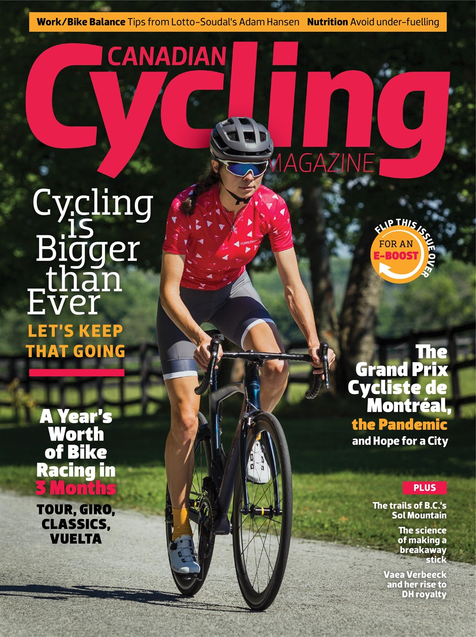 Canadian Cycling Magazine Joins Mens Journal in Rating