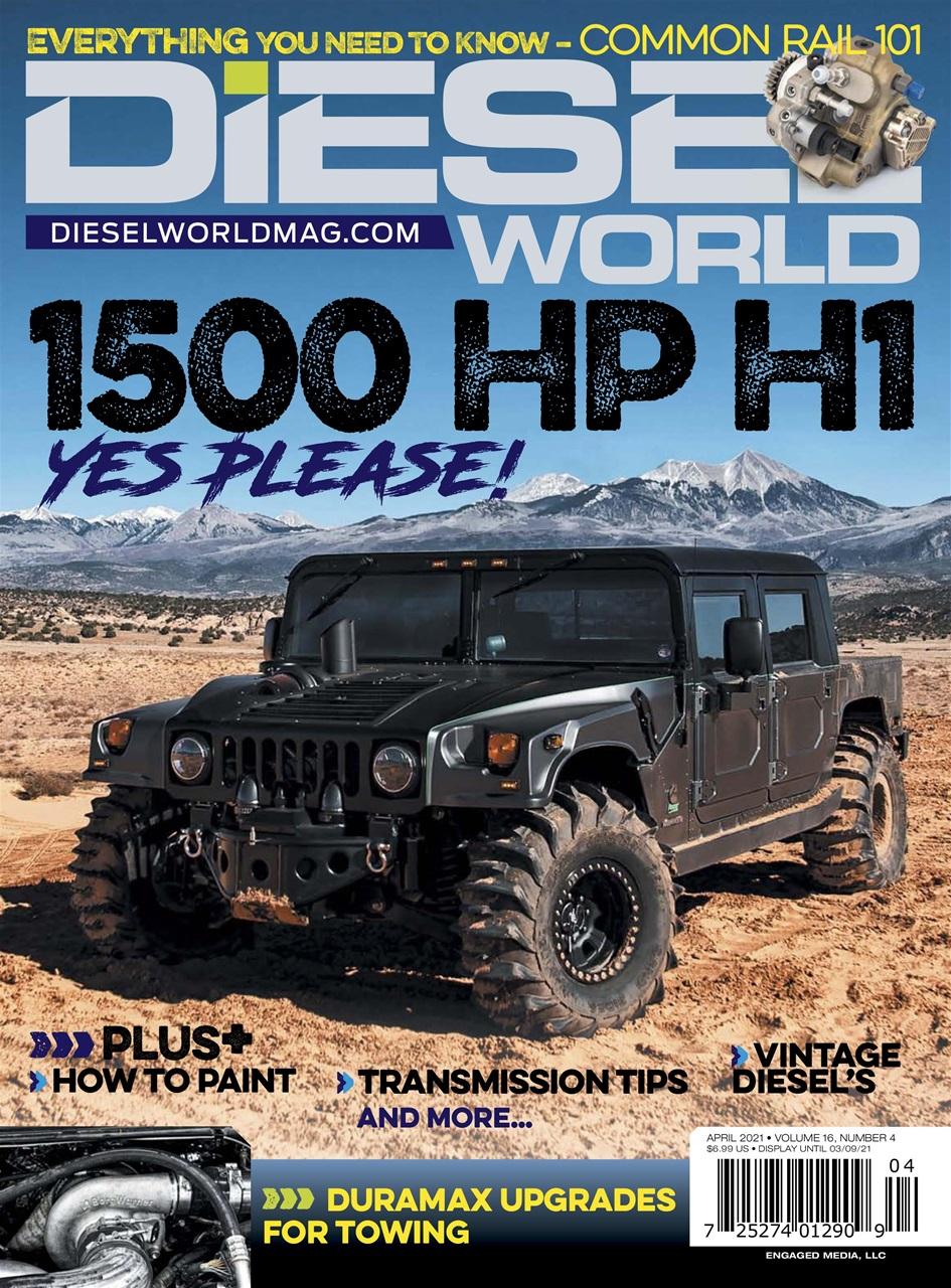 Diesel World Magazine - April 2021 Subscriptions   Pocketmags