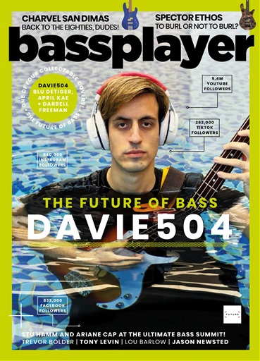 Bass Player UK issue August 2021